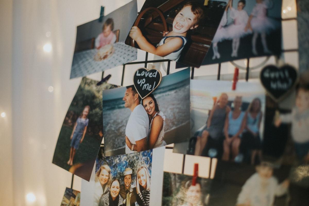 Melissa and Adam Coolibah Downs Wedding | Hampton Event Hire | Photo by White Fox Studios | photo wall