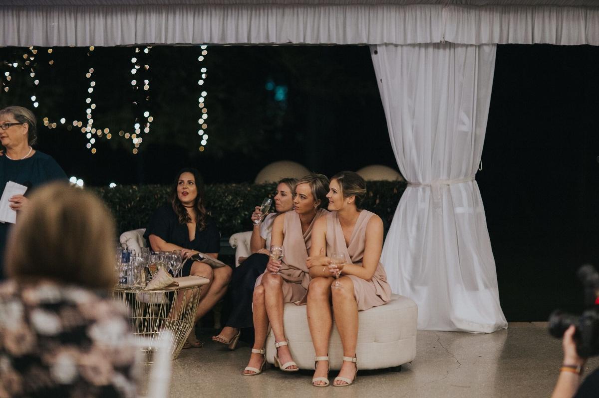 Melissa and Adam Coolibah Downs Wedding | Hampton Event Hire | Photo by White Fox Studios | ottoman