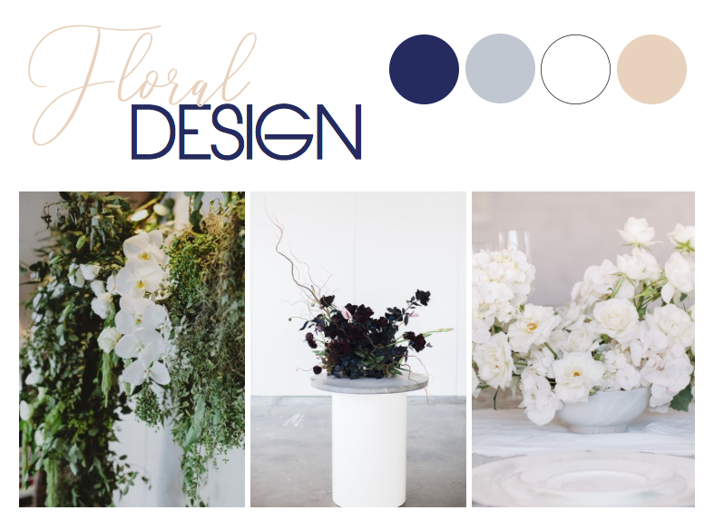 Image 1 via  Willow & Co  and  Florals By Silvia    Image 2 via  Bek Smith  and  Wild Daughter    Image 3 via  The Lane  and  Primula Floral Styling