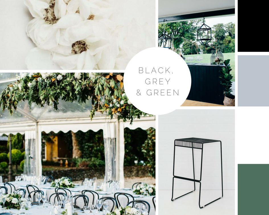Image sources clockwise from top left:  Tristan B  /  Figtree Pictures  / Hampton Event Hire /  Amelia Fullarton