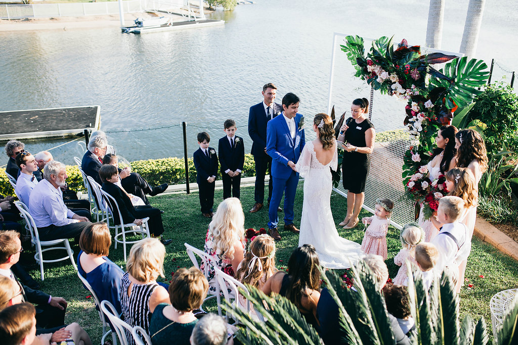 Real Wedding - Carmen and Nick | Gold Coast wedding venue | Hampton event hire | Ceremony