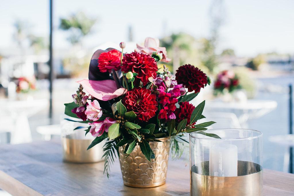 Real Wedding - Carmen and Nick | Gold Coast wedding venue | Hampton event hire | Floral bouquet