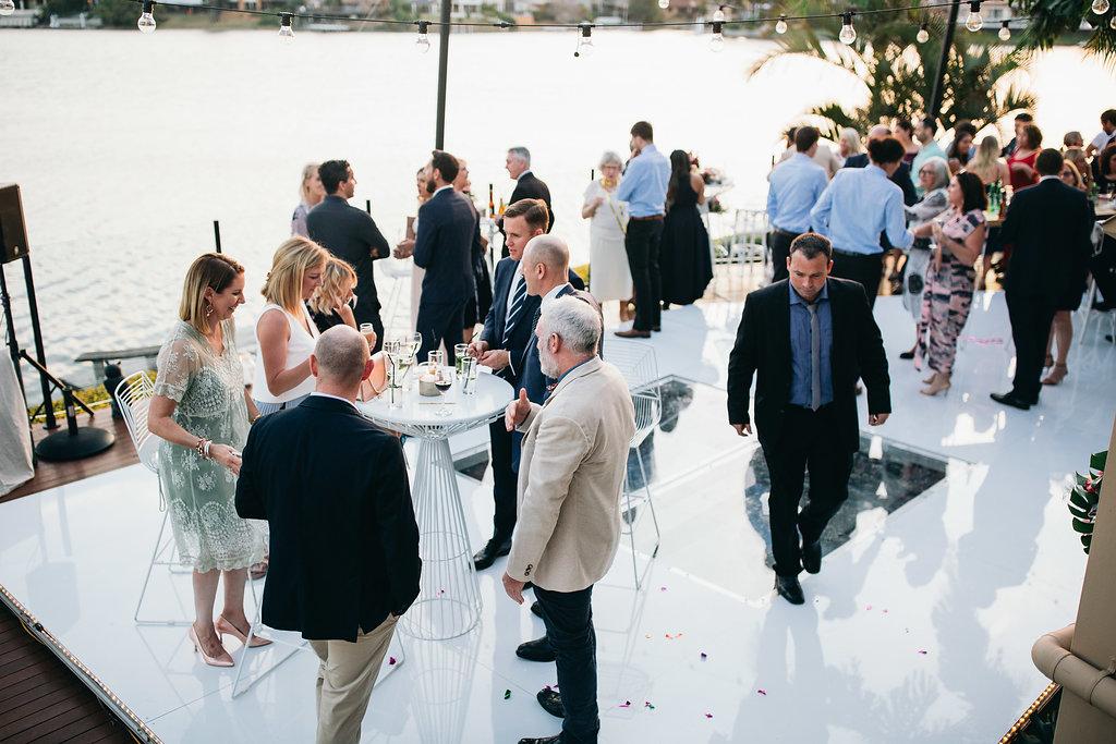 Real Wedding - Carmen and Nick | Gold Coast wedding venue | Hampton event hire | Cocktail hour