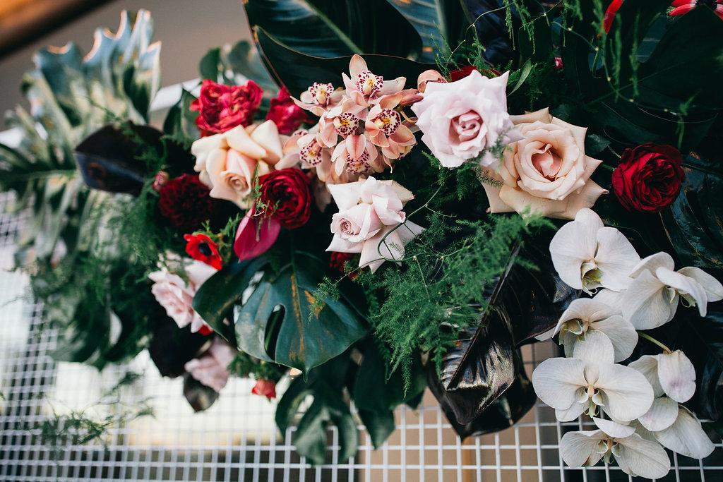 Real Wedding - Carmen and Nick | Gold Coast wedding venue | Hampton event hire | Floral arrangement