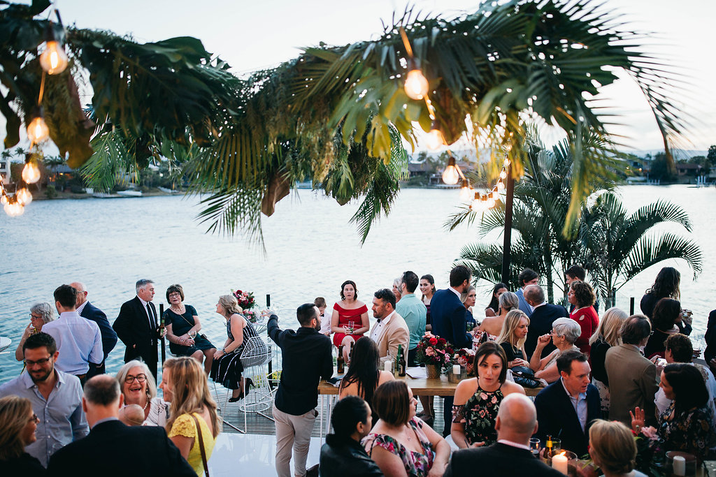 Real Wedding - Carmen and Nick | Gold Coast wedding venue | Hampton event hire | Waterfront