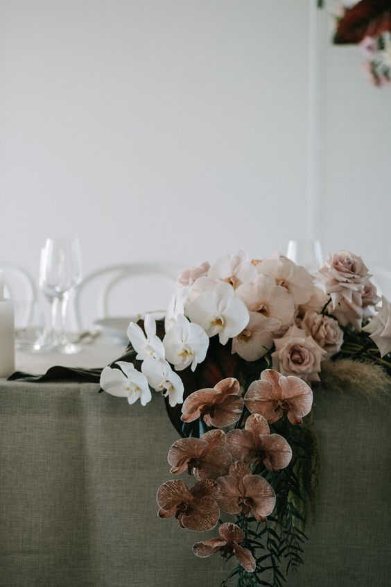 Styling:  The Events Lounge  | Flowers:  Bower Botanicals  | Photo:  Lucas and Co Photography