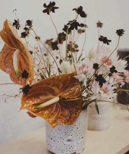 Florals by  Fox Fodder Farm  / Image by  Les Loups