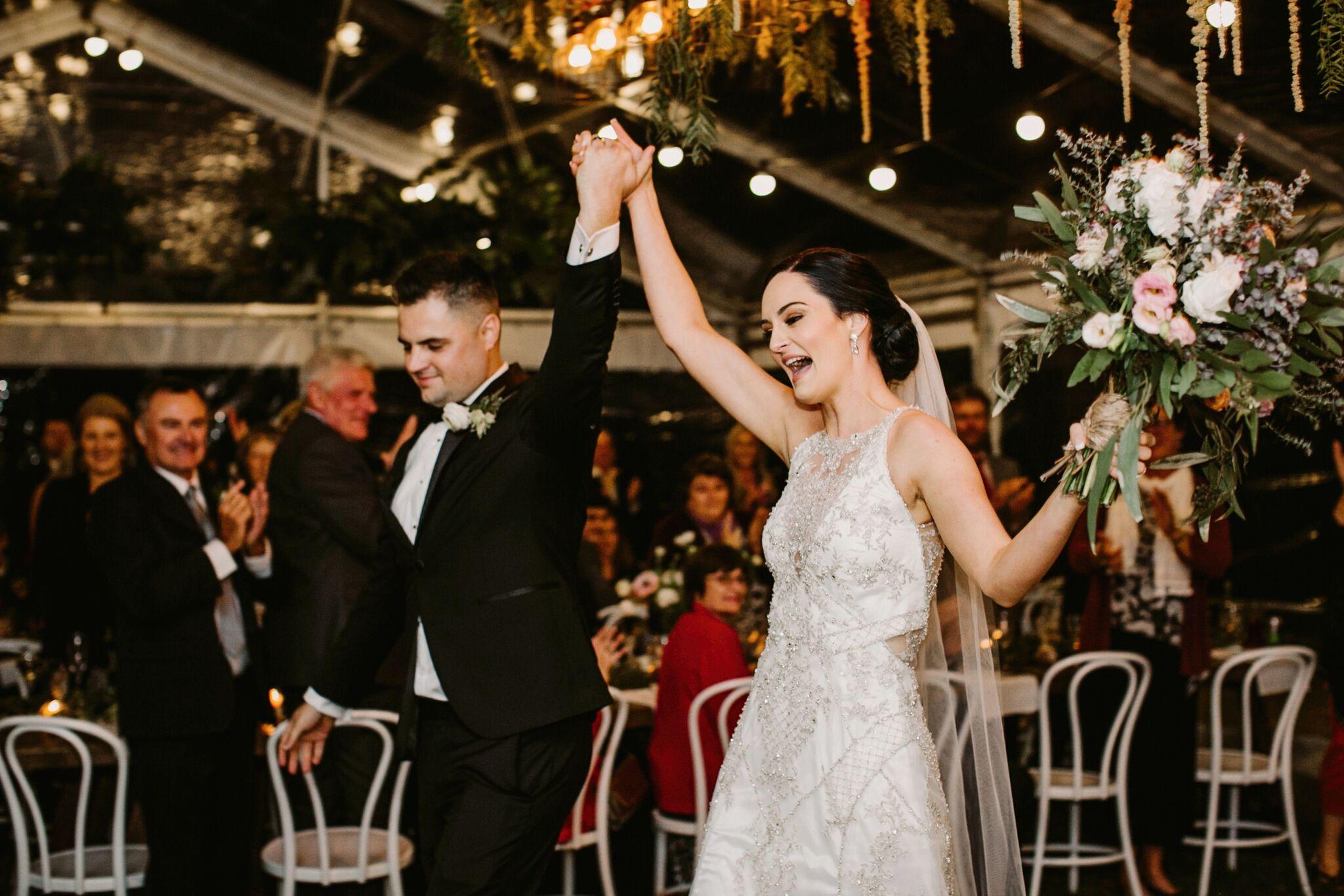 Natalie and Tim, Maleny Retreat Sunshine Coast Wedding   Hampton Event Hire
