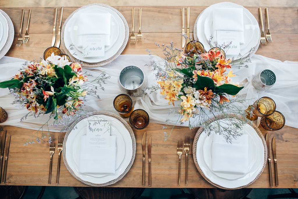 How to style a bohemian wedding reception, with tips from Hampton Event Hire