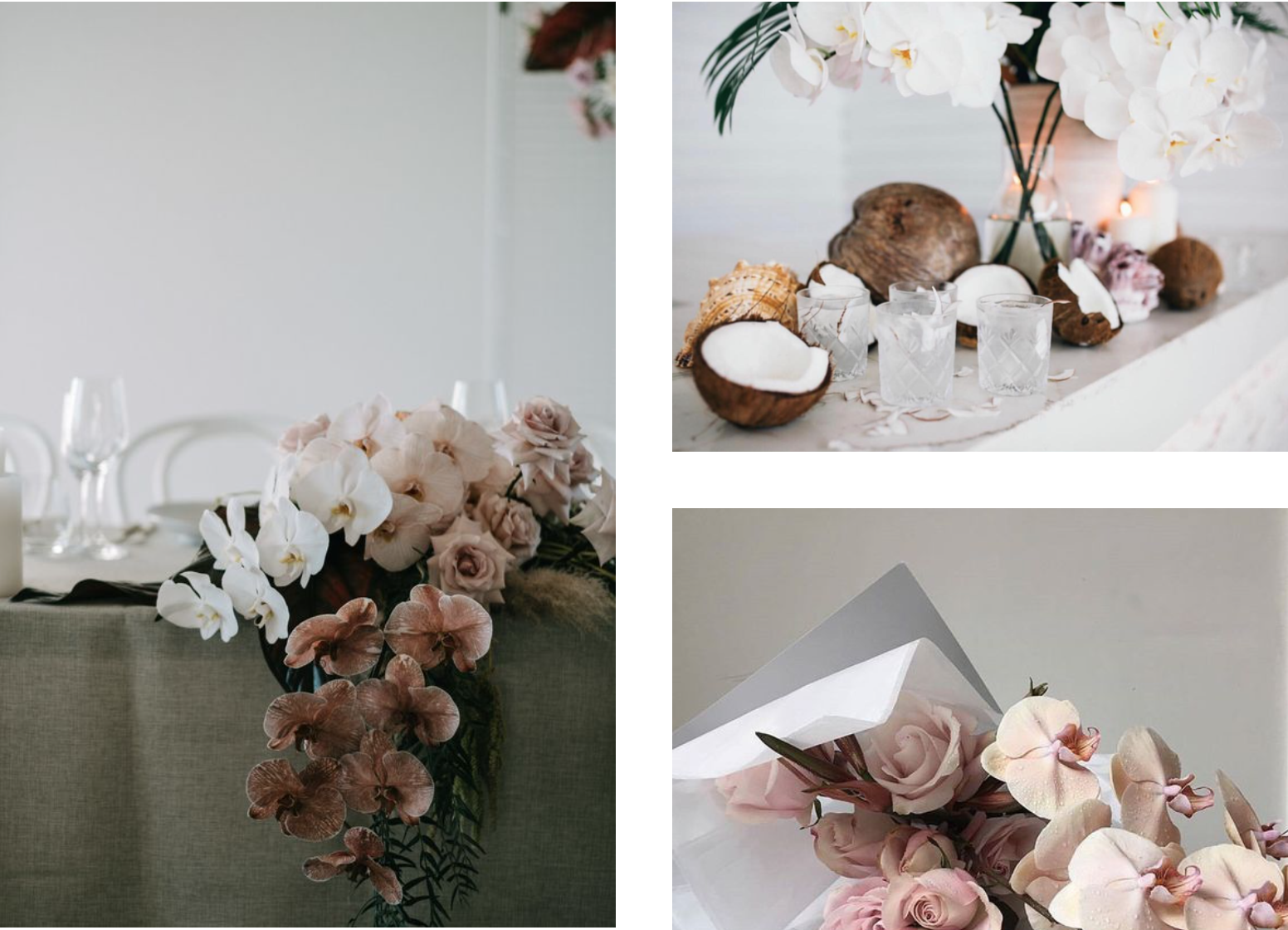 5 wedding flower trends for 2018, with Hampton Event Hire