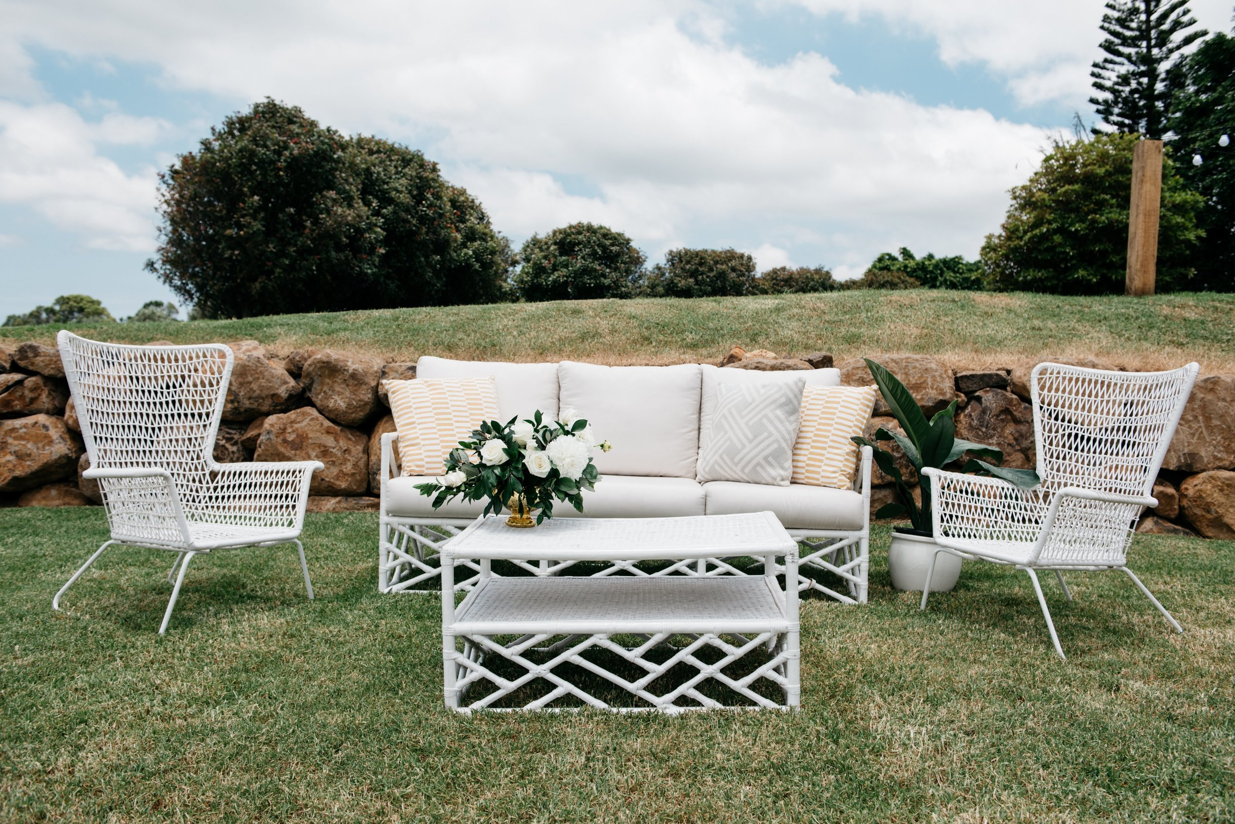 Real Wedding at Summergrove Estate Barn, Hampton Event Hire Blog, Sofa Hire