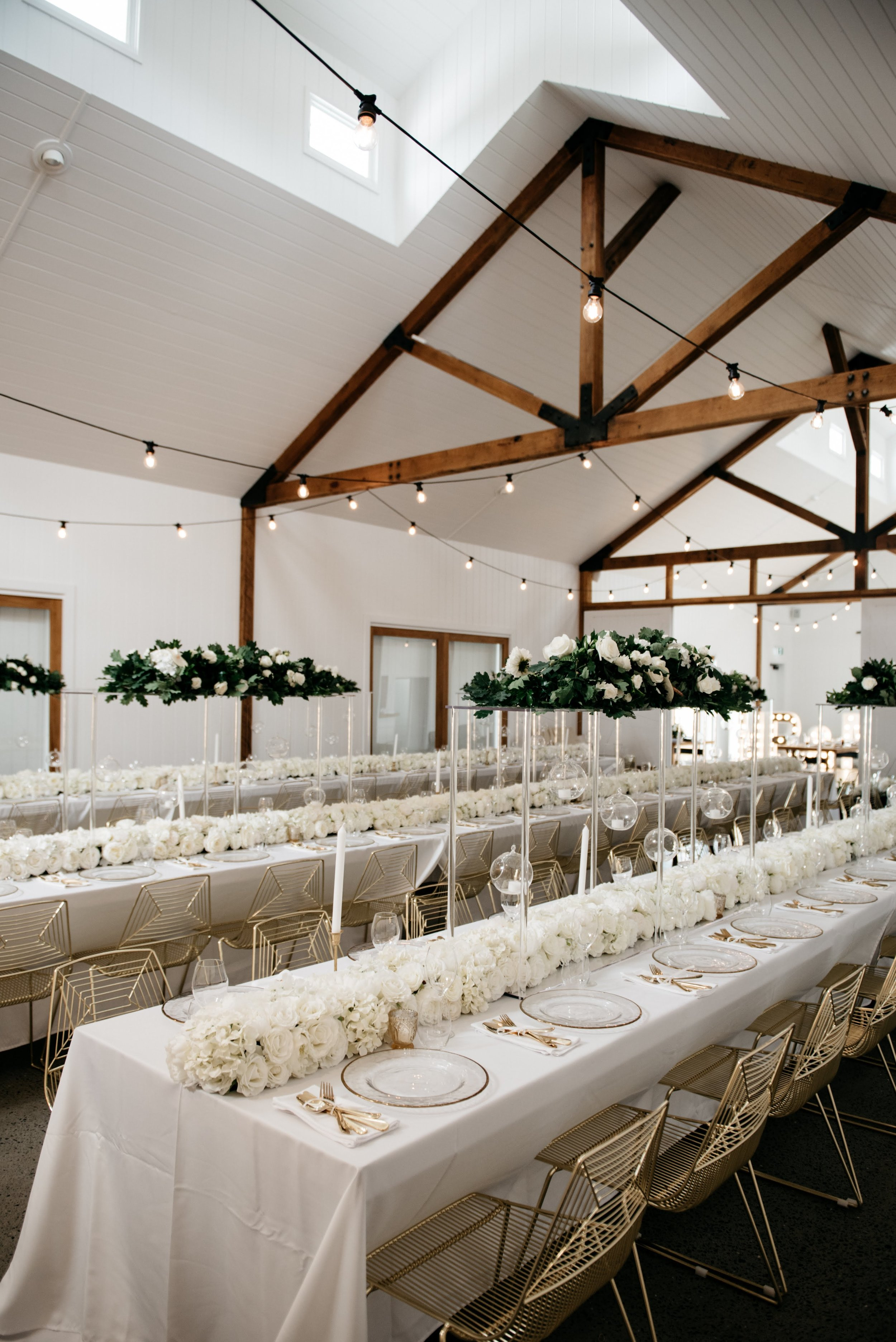 Real Wedding at Summergrove Estate Barn, Hampton Event Hire Blog, Dining Chair Hire