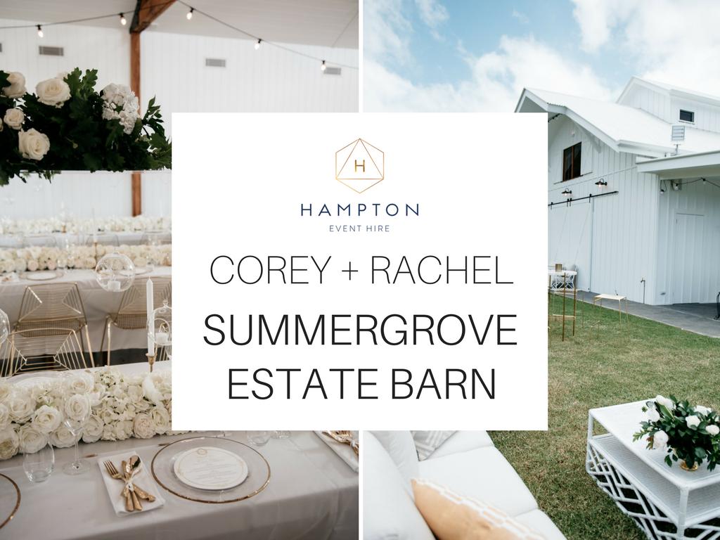 Real Wedding at Summergrove Estate Barn, Hampton Event Hire Blog, Corey and Rachel
