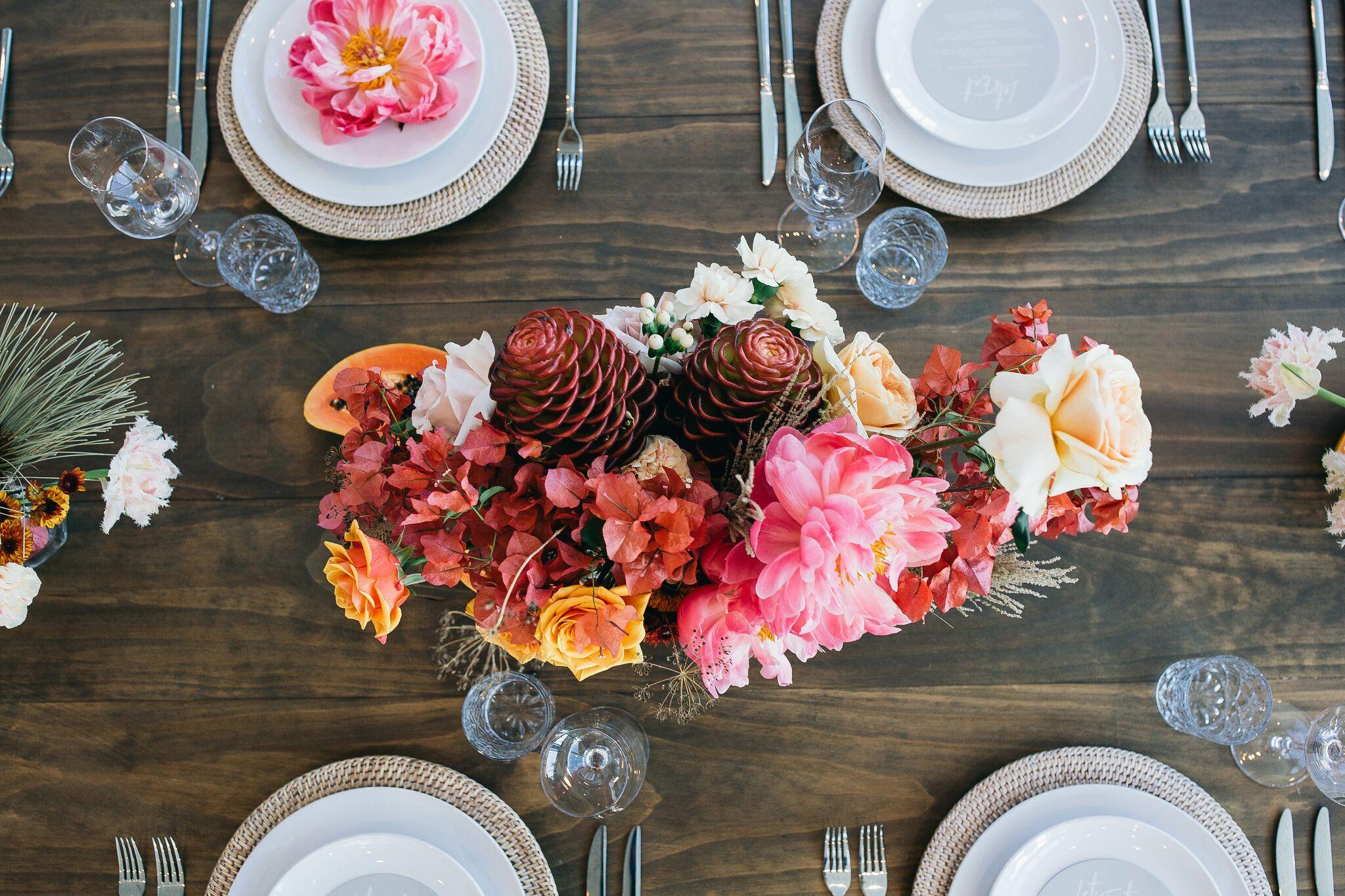 Wedding Tableware Hire Checklist - Image via  Figtree Wedding Photography