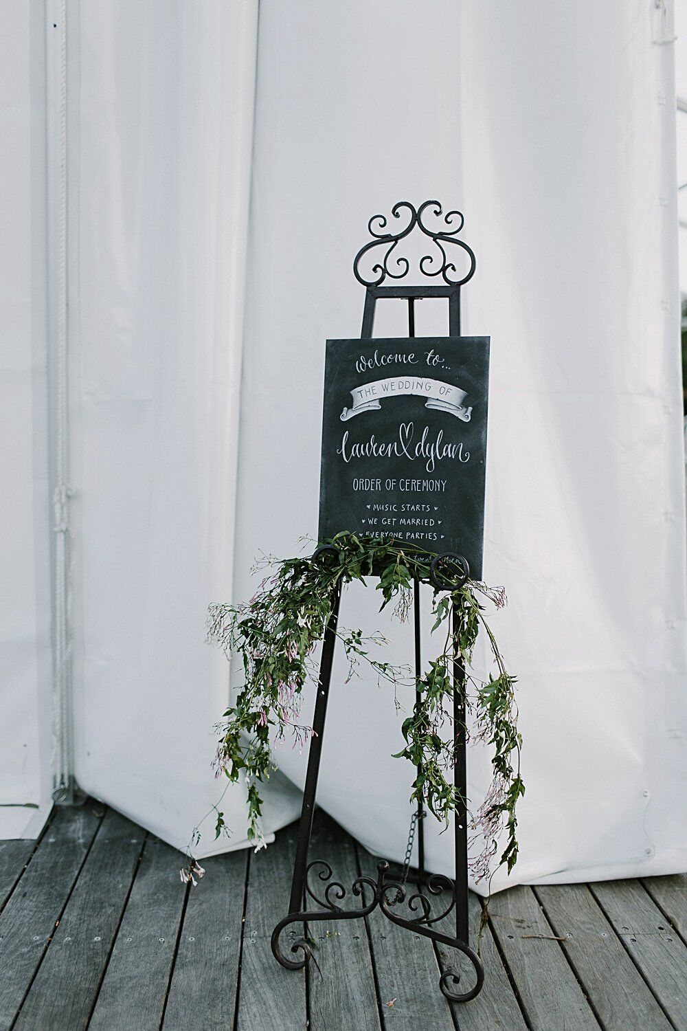Wedding Decoration and Prop Hire Checklist - Image via Heart and Colour Photography