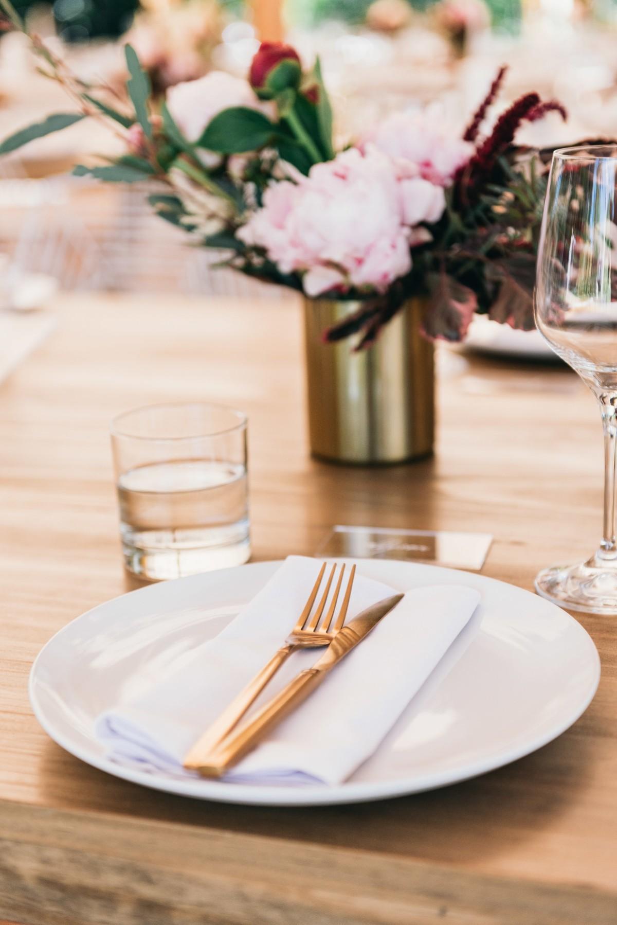 Real Wedding: Kathy and Glenn, Newrybar, Byron Bay Wedding | Hampton Event Hire, wedding and event hire | Image via Figtree Wedding Photography