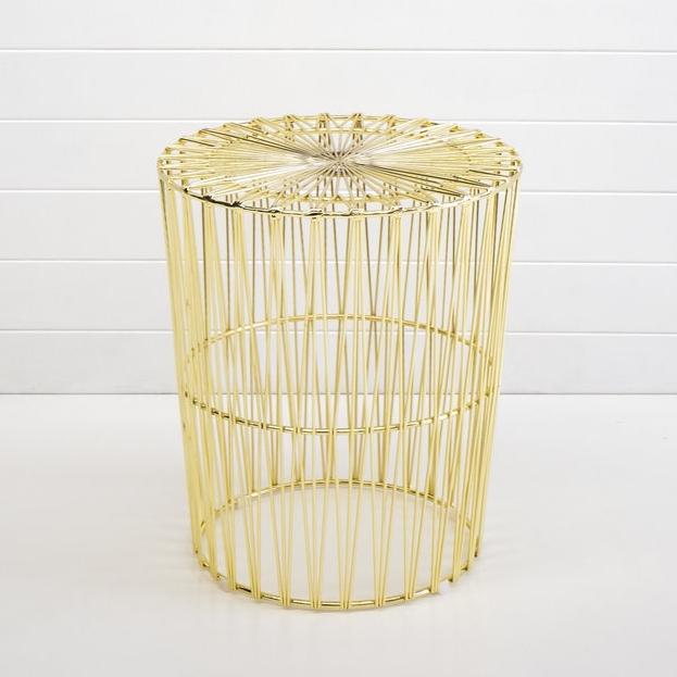 GOLD SOHO SIDE TABLE