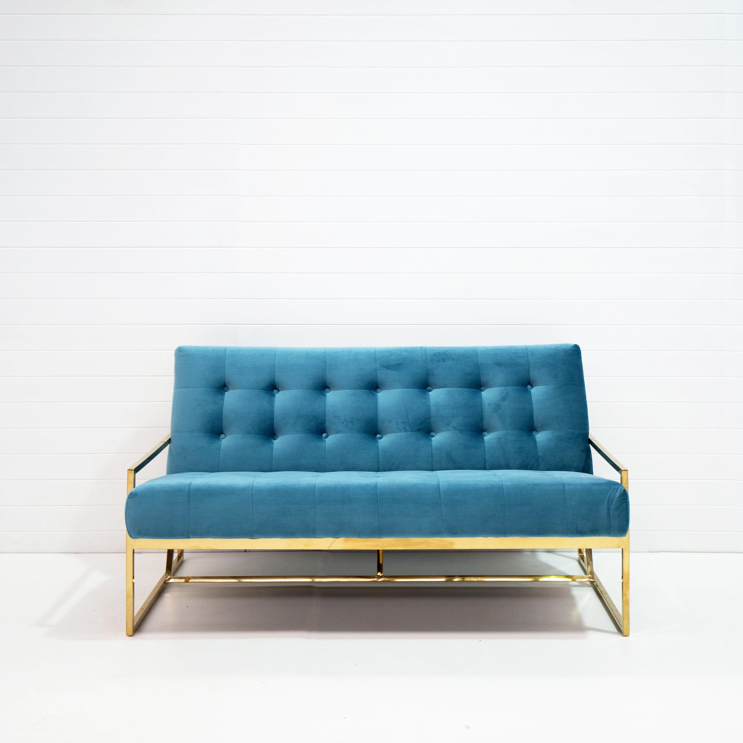Two-seater teal velvet lounge.jpg