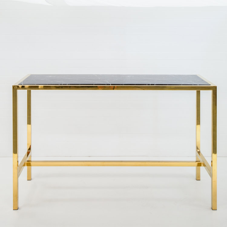 GOLD ICELANDIC DRY BAR WITH BLACK MARBLE