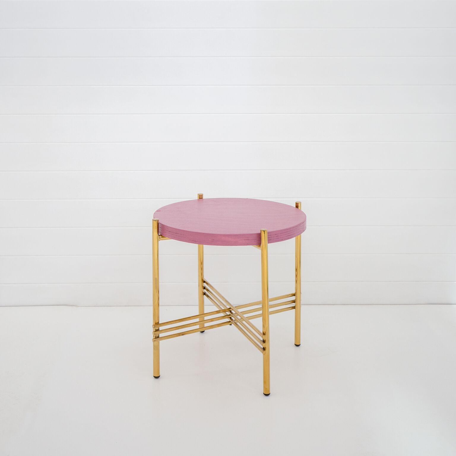 WILD GERANIUM ICELANDIC SIDE TABLE