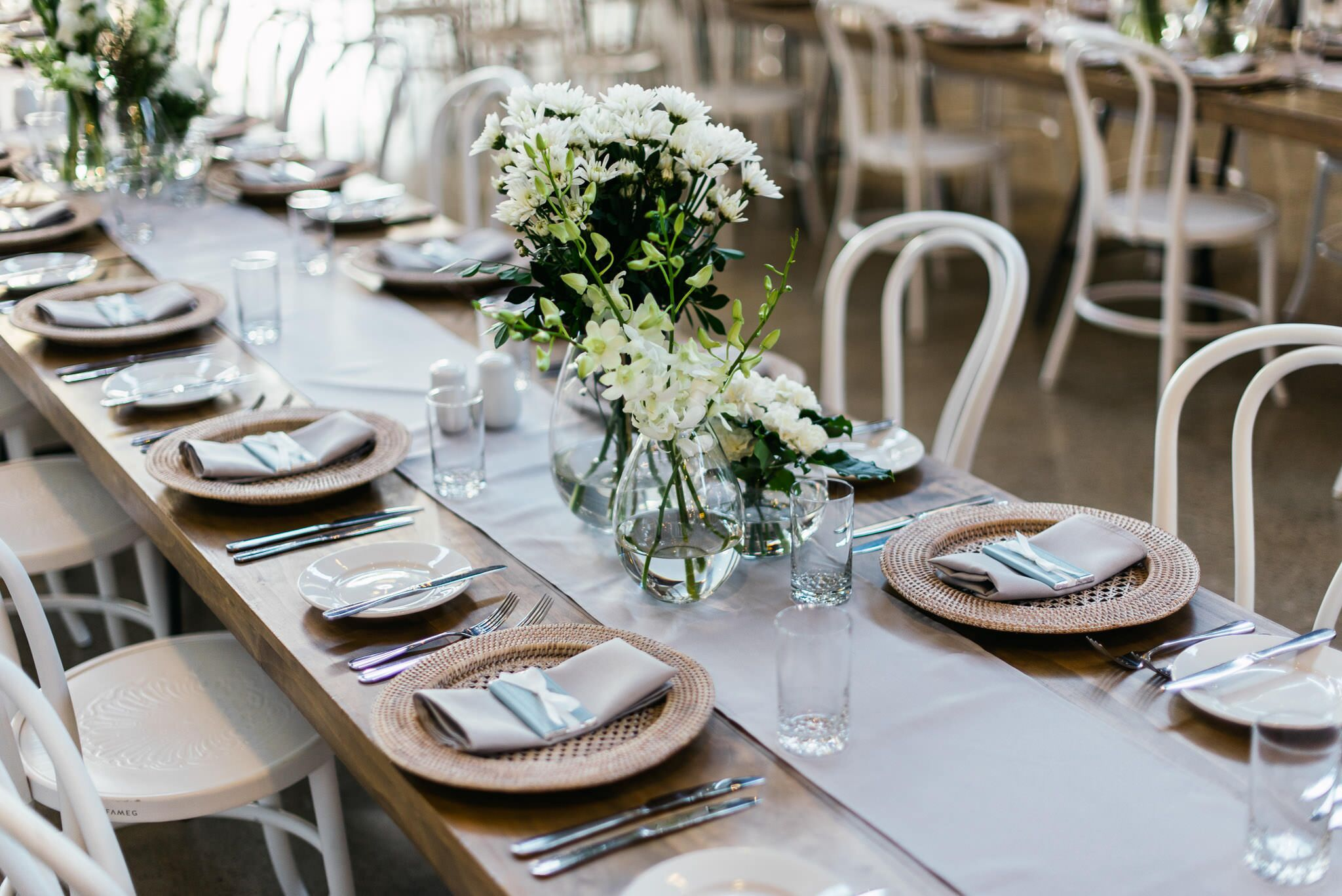 Rattan charger plate hire Hampton event hire1.jpeg