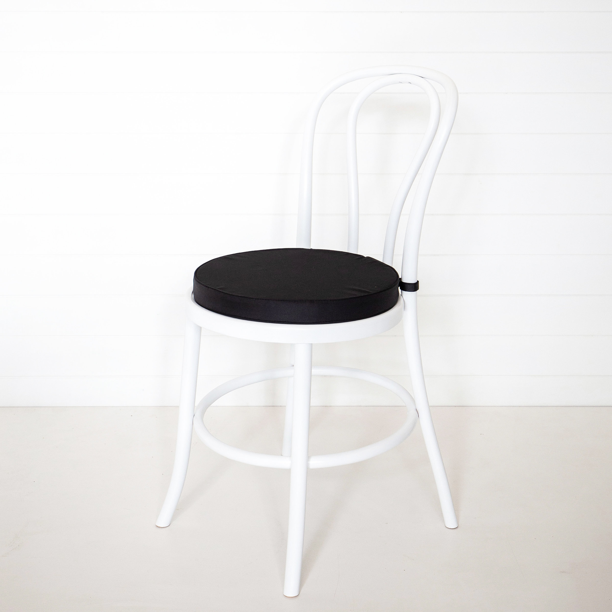 Black Bentwood Chair Cushion
