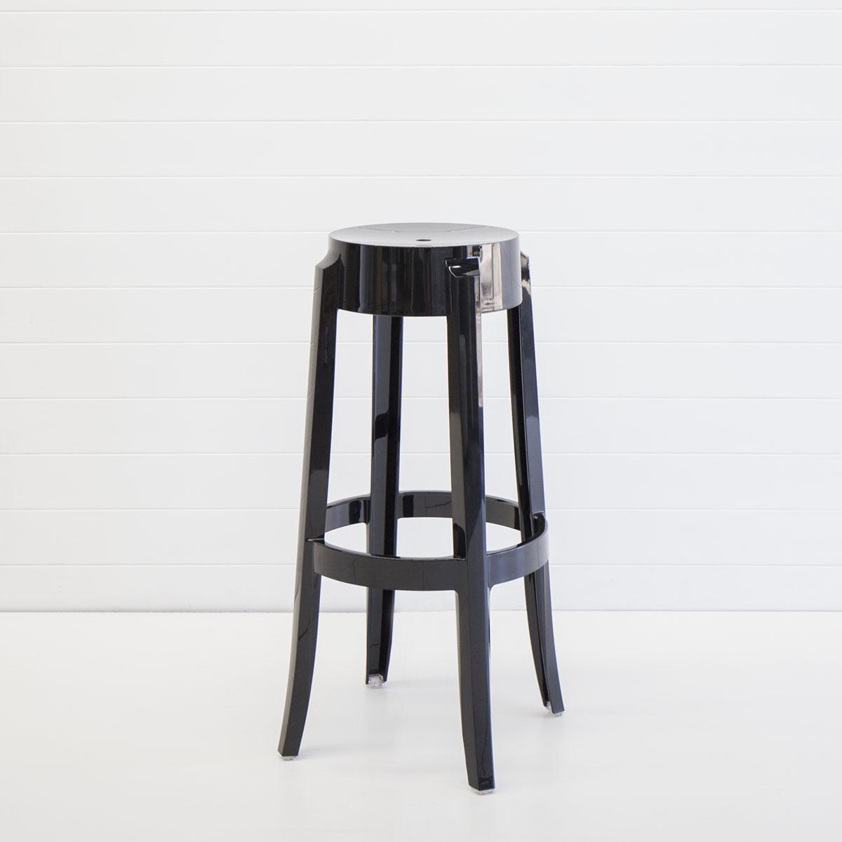 Black ghost stool