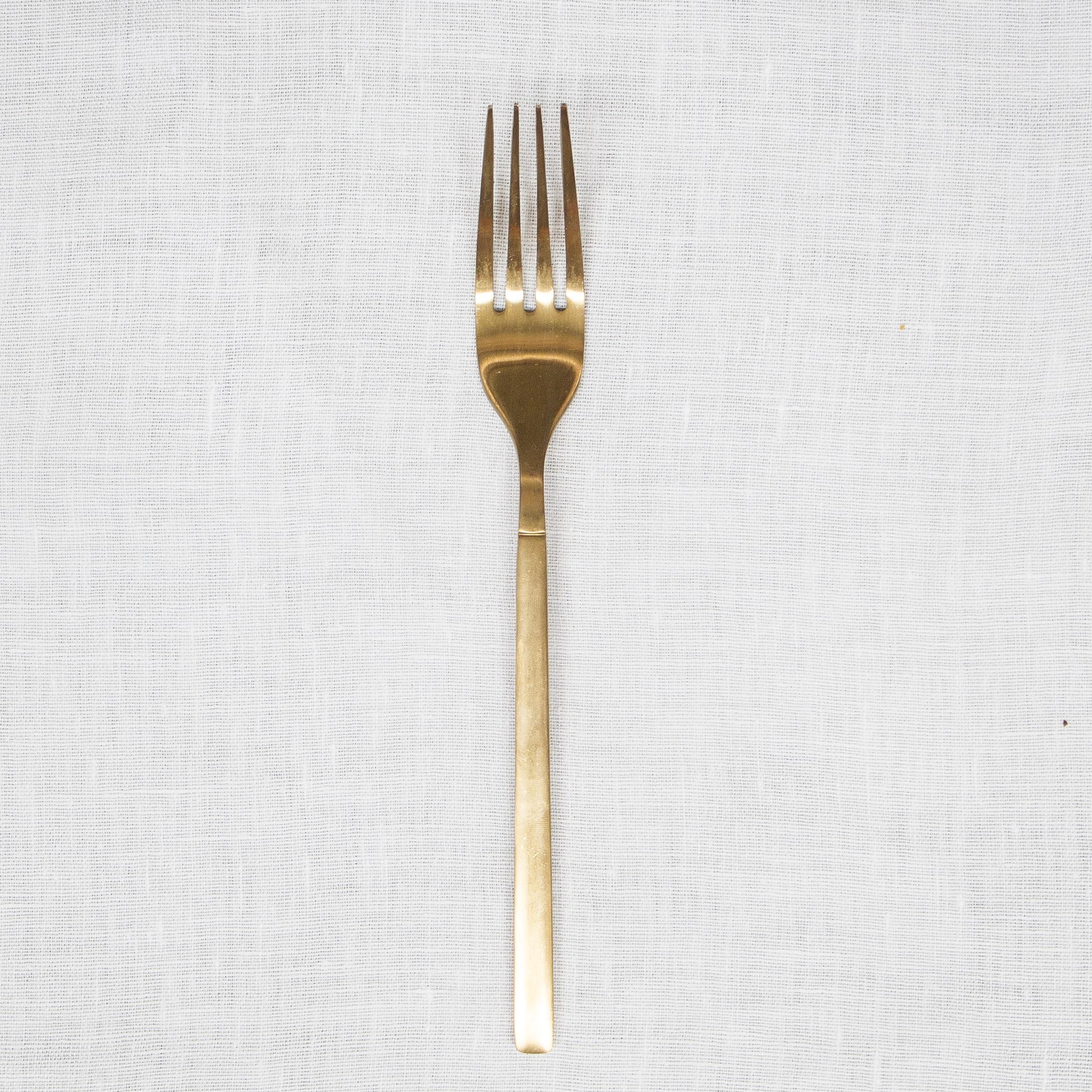 Gold Entree Fork