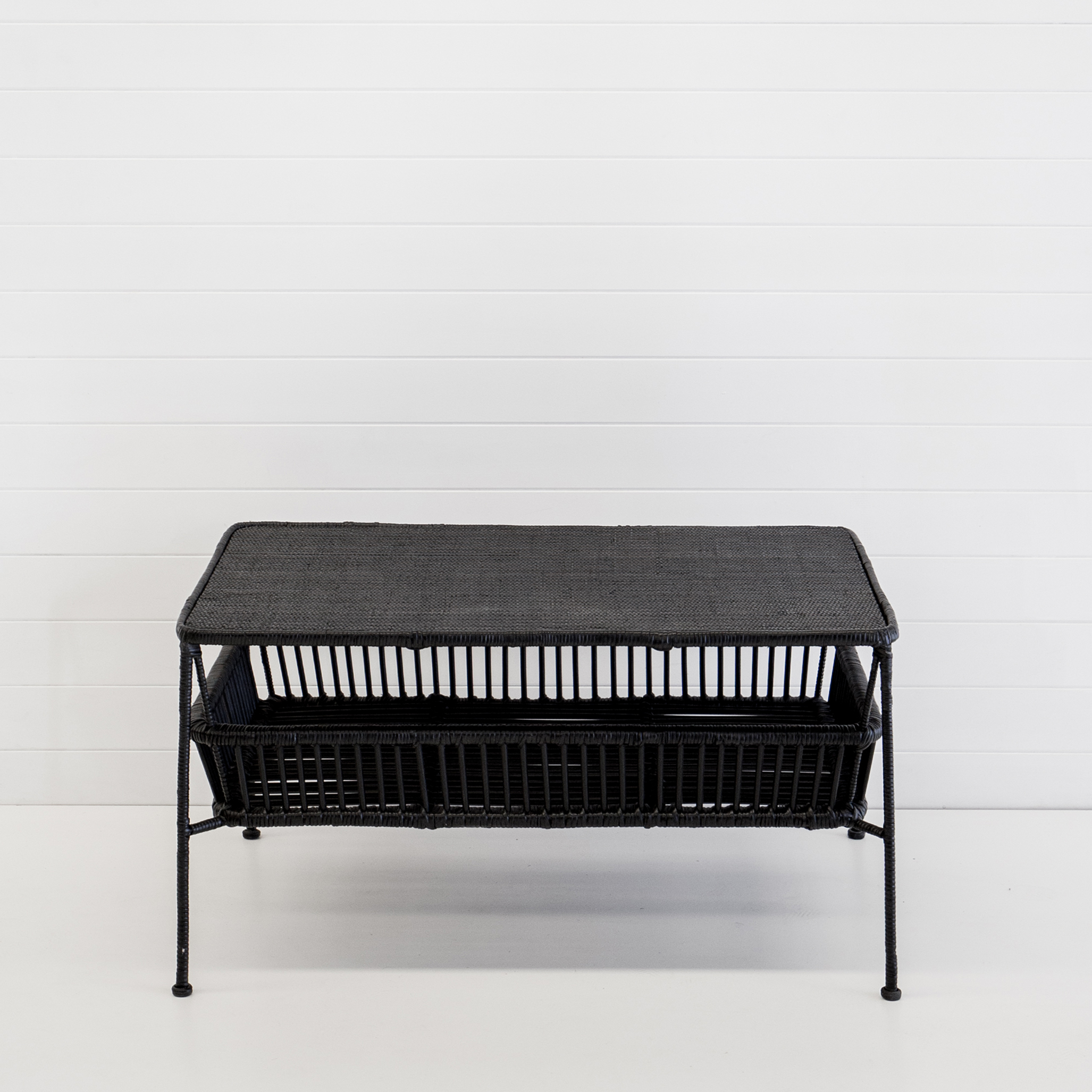 Indie black coffee table