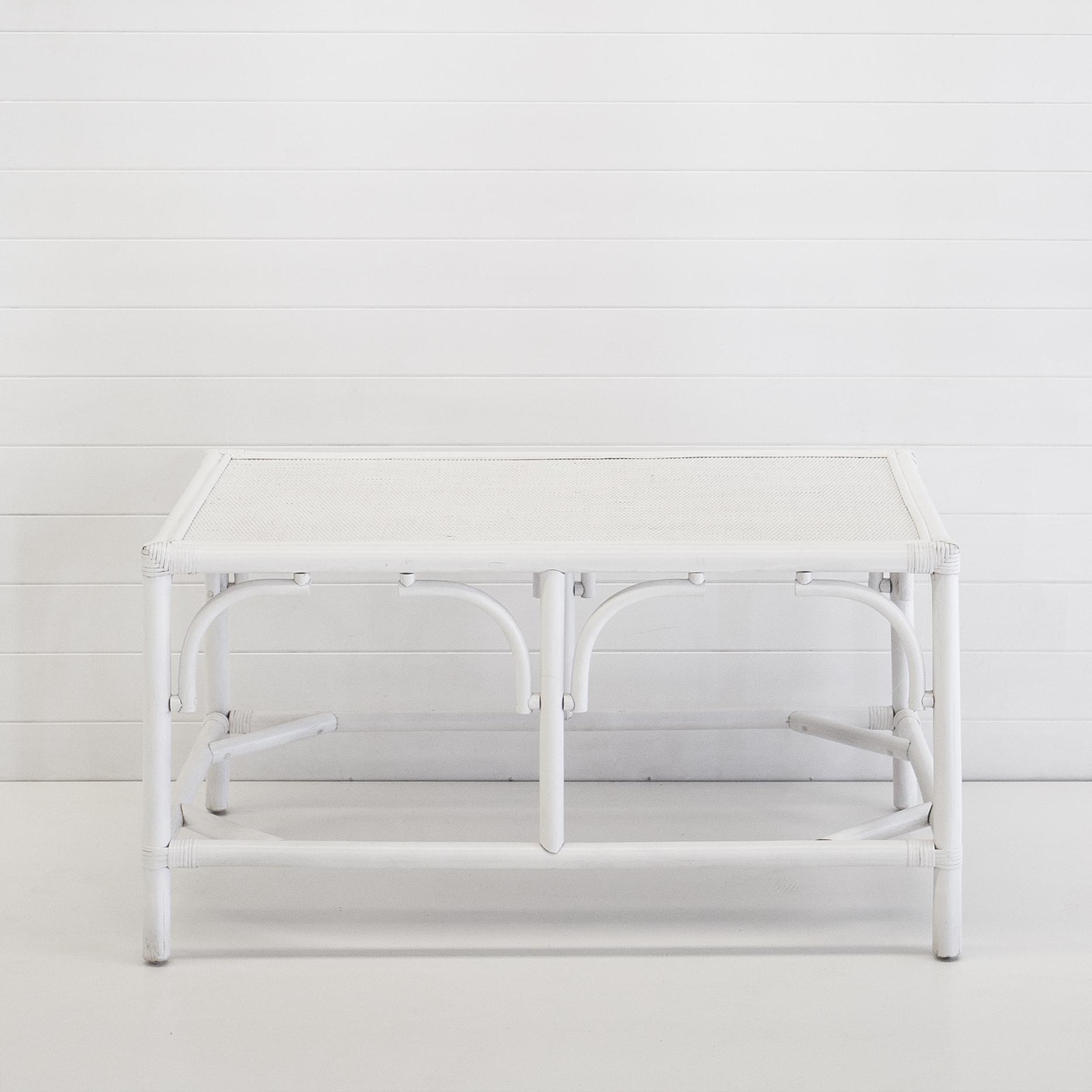 Hamptons white coffee table
