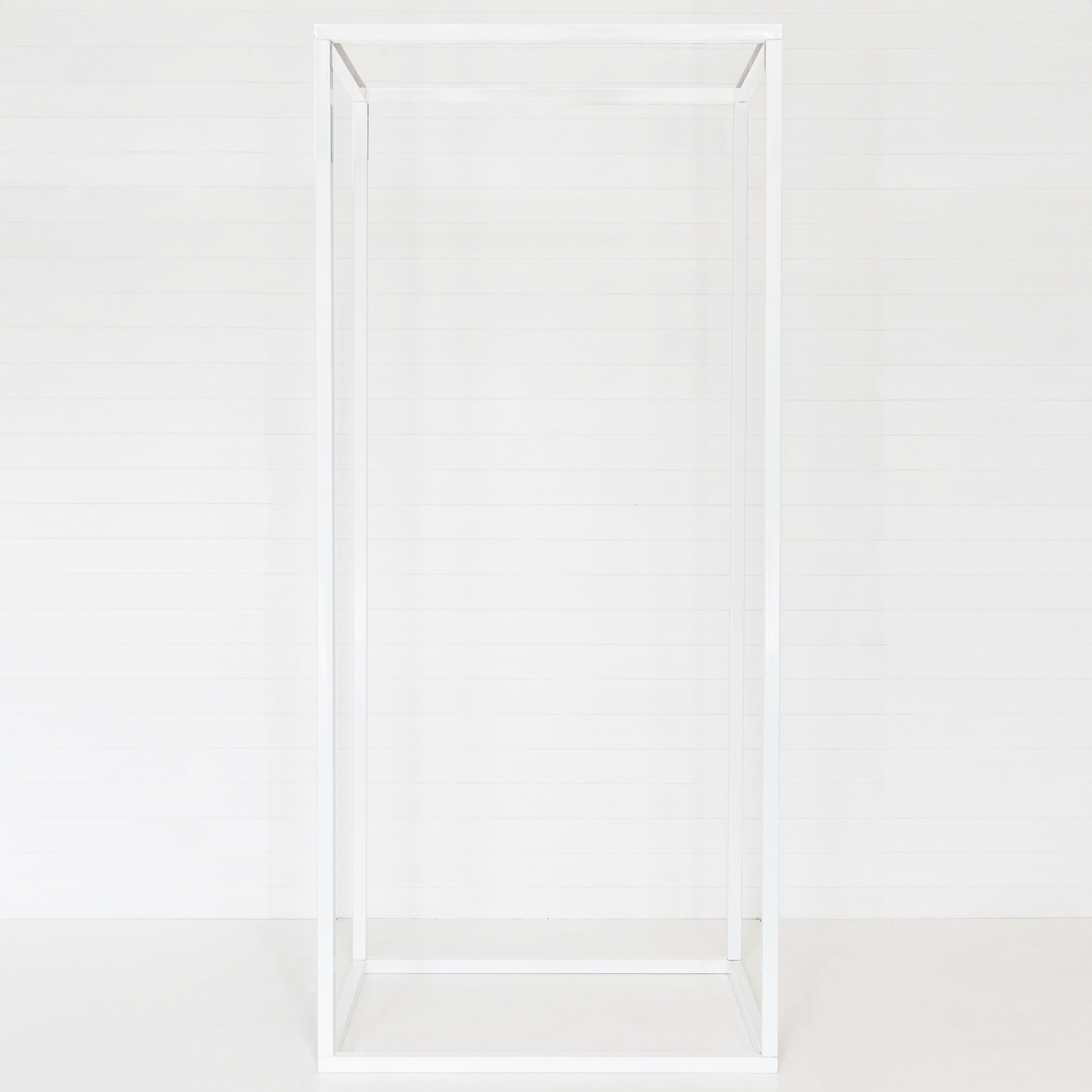WHITE UNIVERSAL FRAME STRUCTURE