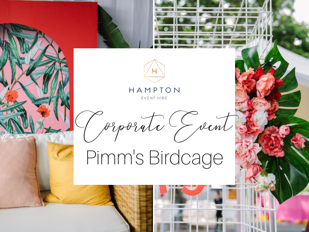 Corporate Event Styling, Birdcage Marquee | Hampton Event Hire, Brisbane Event Furniture Hire