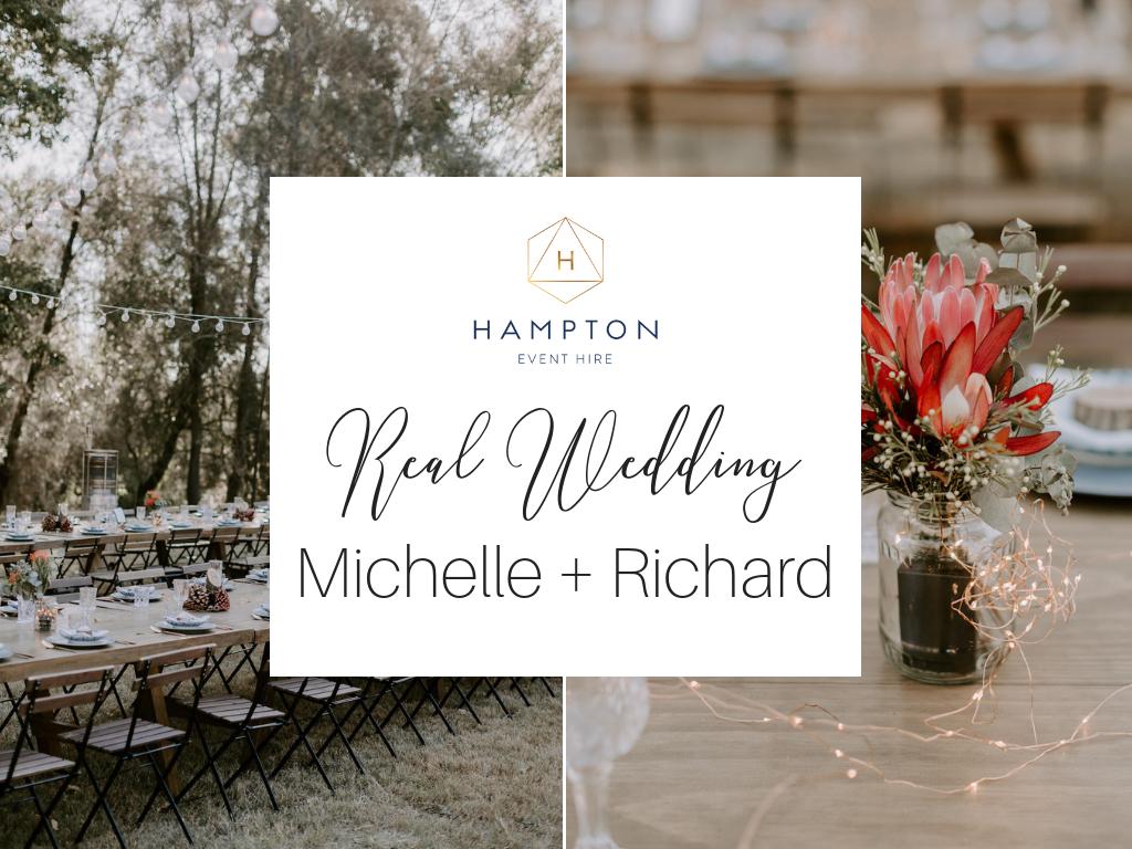 Real Wedding: Michell + Richard, Country-Bohemian DIY Wedding Styling at Brisbane   Hampton Event Hire