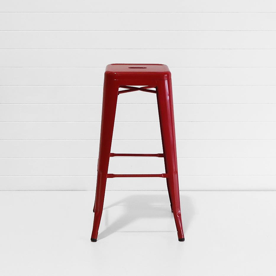 Tolix stool - red.JPG