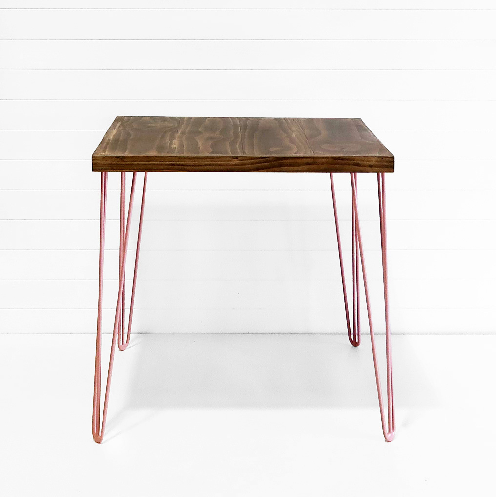 Hairpin Cafe Table - Dusty Pink Legs.JPG