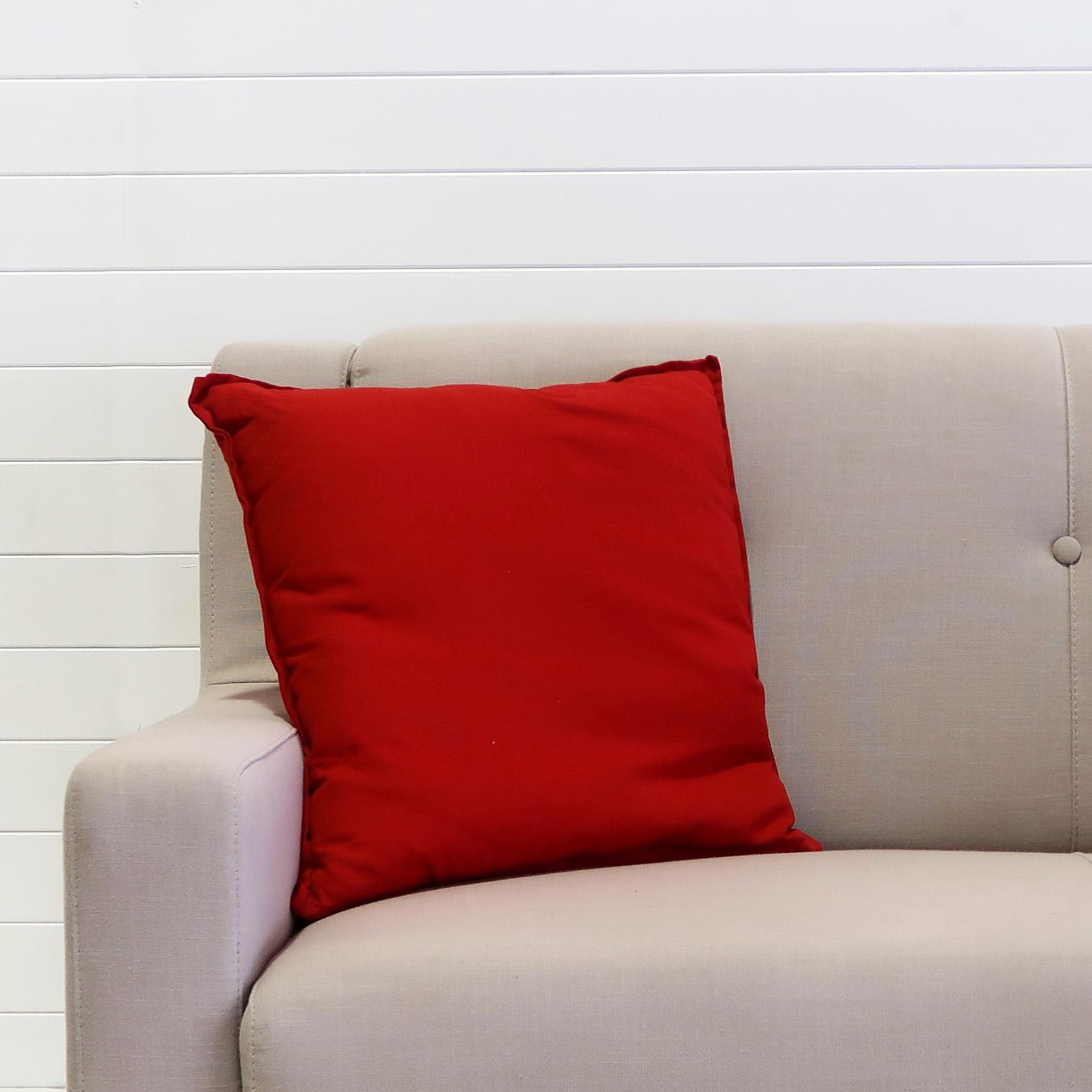 Cushion - Bright Red.JPG