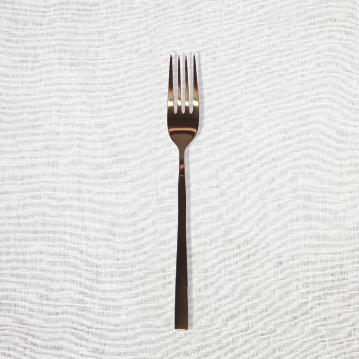 Matte Copper Entree Fork.jpg