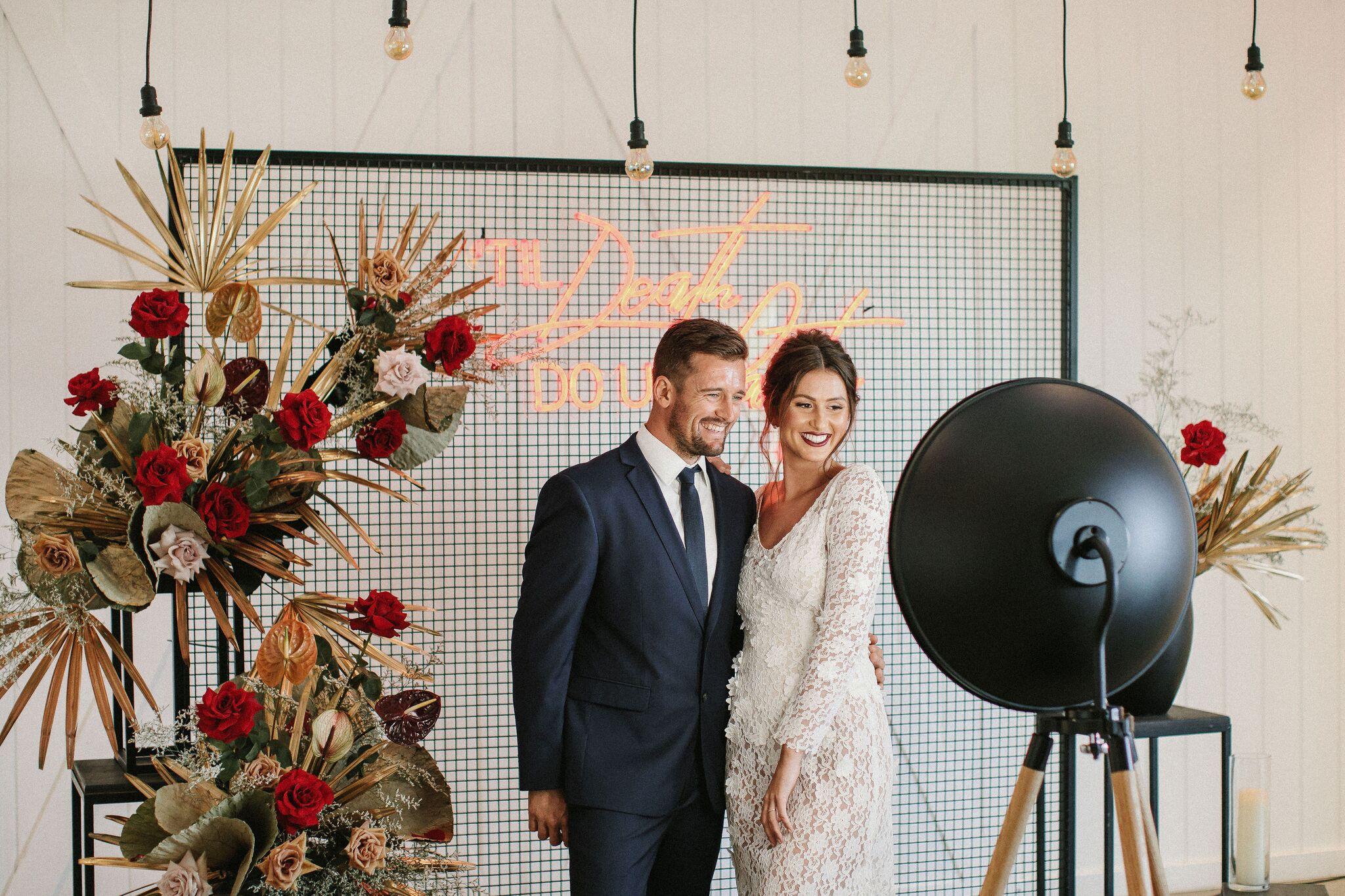 Image via    Tom Judson    / Styled by    Arctic Fox Weddings