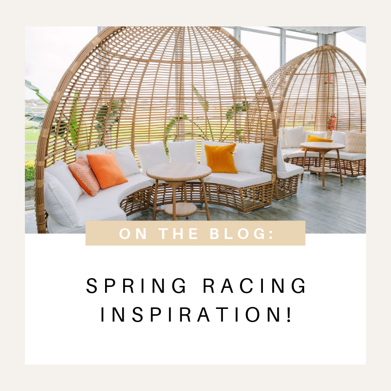 Spring Racing Carnival Event Furniture Hire Inspiration