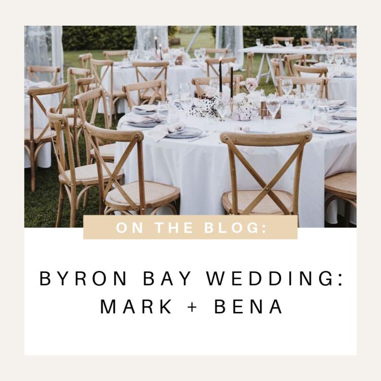 Deux Belettes Byron Bay Wedding Furniture Hire