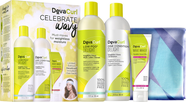 Win this DevaCurl gift pack by leaving a comment below.