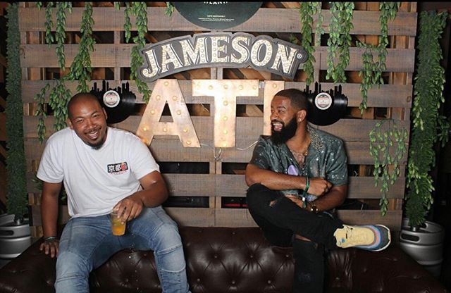 Thank you @jameson_us for such a dope party. @2lashi you did it again bro thanks for the invite. #jamesonsessions