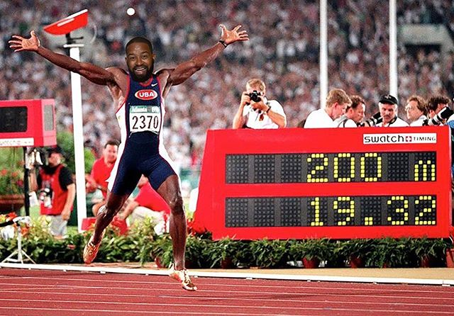 🥇 In 1996 during the summer Olympics in Atlanta, Michael Johnson became the only man in history to win the 200m & 400m gold medals in a single Olympics. 96 Ep available on all platforms #96andforever