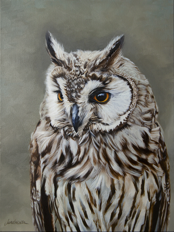 "Seer  Oil on canvas  18""x24"""
