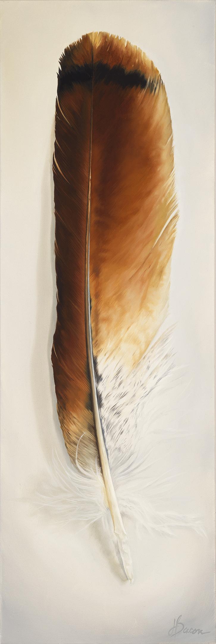"""Redtail Hawk Spirit  24""""x36 Oil on canvas"""