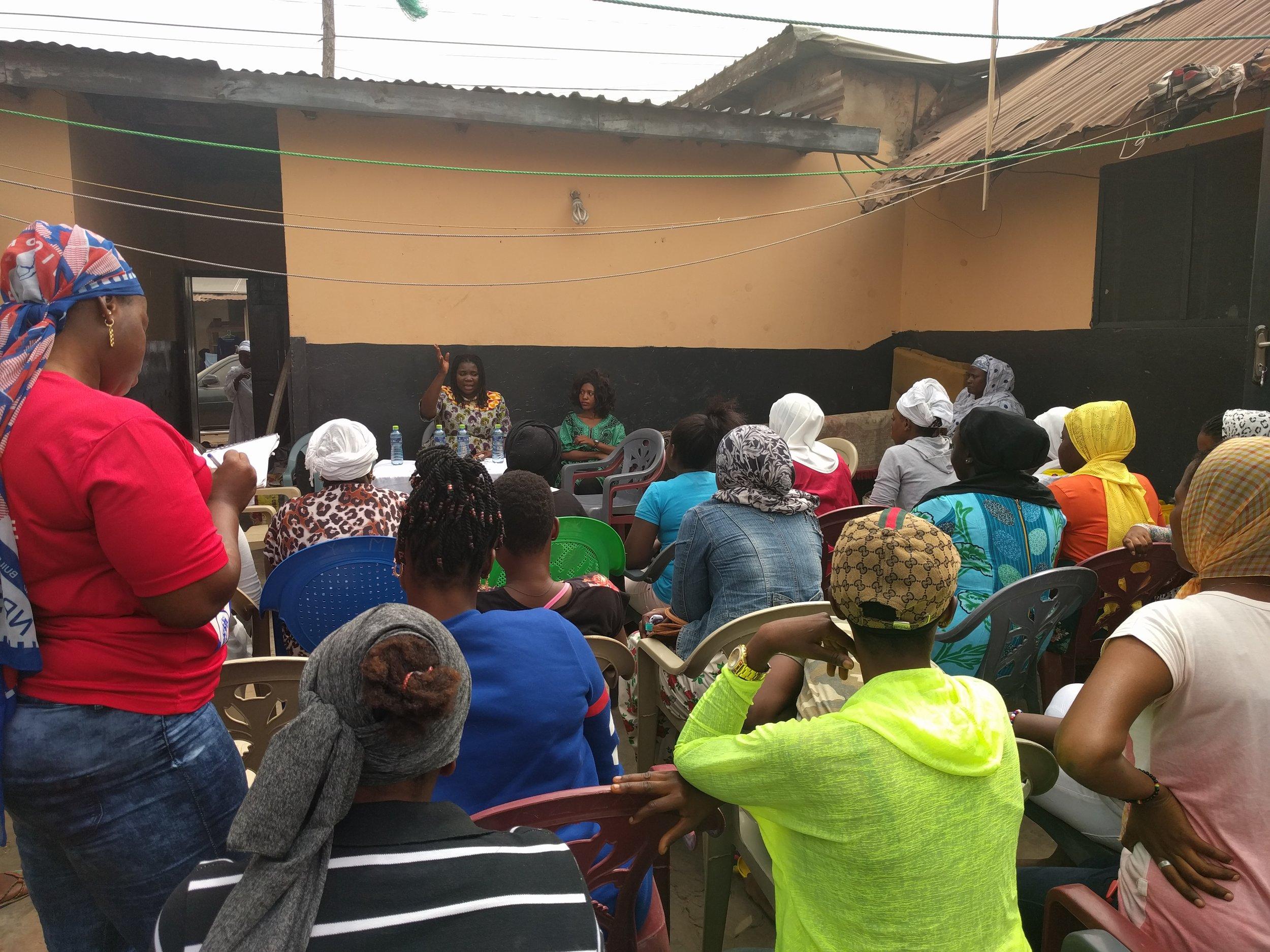 NEWIG Outreach in Nima