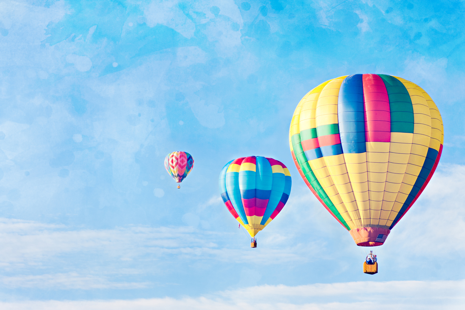Whimsical Hot Air Balloons