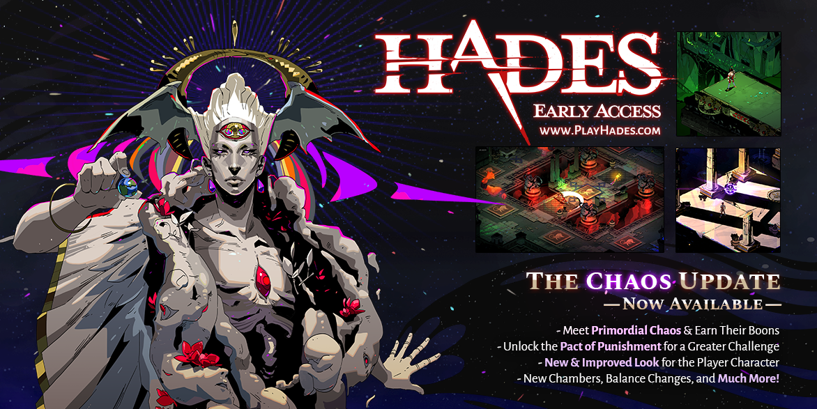 Hades Update Post for Twitter