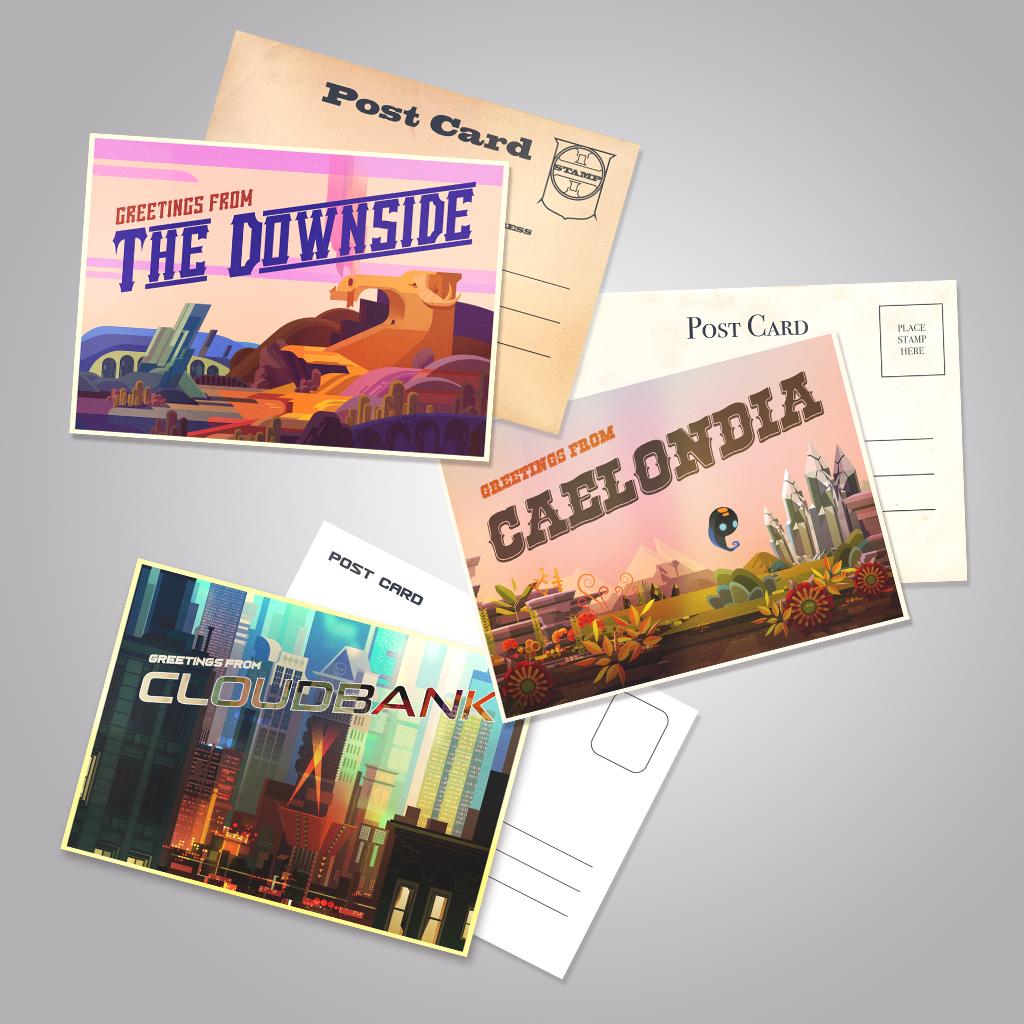 Supergiant Store Postcards