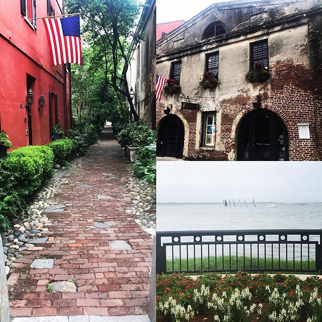 Gray day in Charleston, SC, but that doesn't dim her beauty! What are you doing with your Saturday? #getoutdoors #saturday #charleston #urbanexploration #lovewhereyoulive #chsfoodie #charlestonstyle #charlestonlife #southernliving
